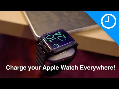 Awesome Satechi USB-C Charger for the Apple Watch!