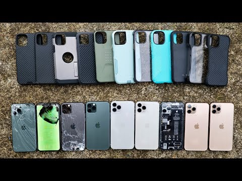 Most Durable iPhone 11 Pro Cases Drop Test! Top 10