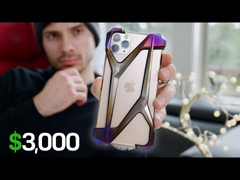 The $3000 iPhone 11 Pro Case!