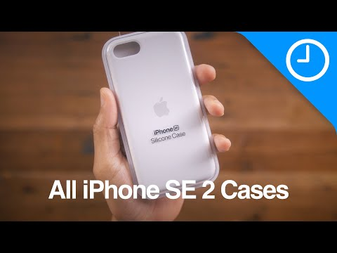 ALL iPhone SE 2nd-gen cases featuring all available COLORS