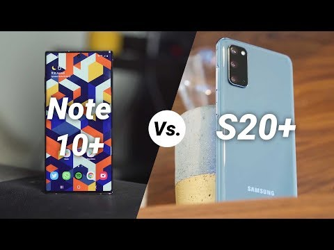 Should you buy the Note 10+ or S20+ at the same price?