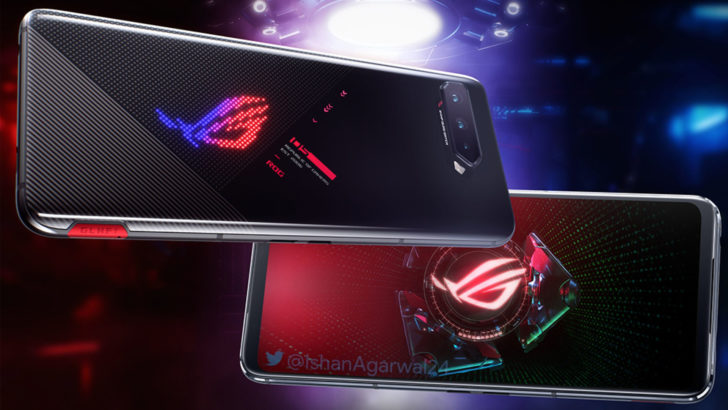 Last-minute ROG Phone 5 renders show off some stylish changes, including a new white color option