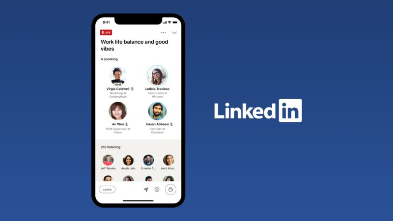 LinkedIn now wants to have its own Clubhouse-like platform