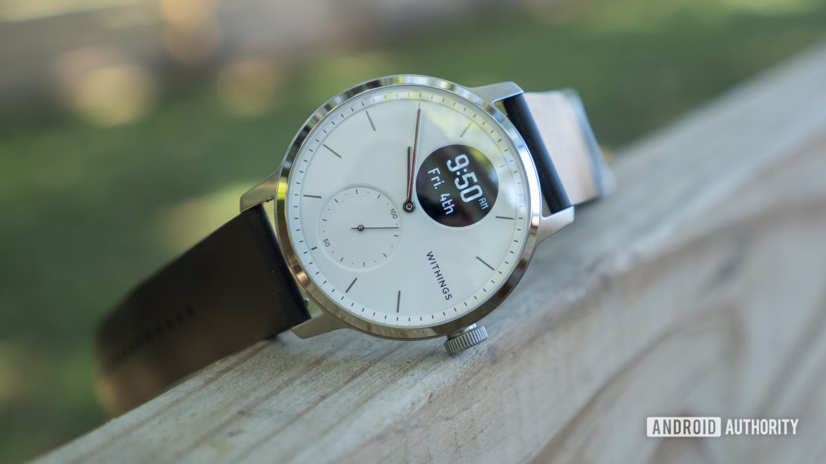 withings scanwatch review clock face design 4