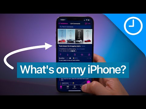 What's on my iPhone? (February 2021)