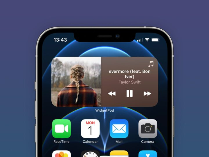 'WidgetPod' is a new iOS app that brings Now Playing widgets for Apple Music and Spotify