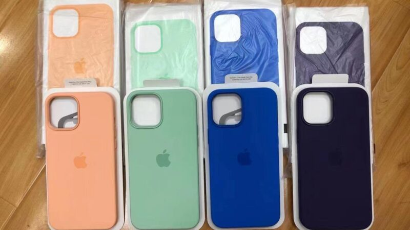Another sketchy photo gives us a look at the new spring colors for iPhone 12 MagSafe cases [U]