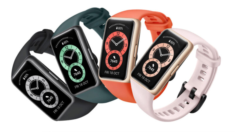 Huawei is going all-in on big-screened fitness trackers with the Huawei Band 6