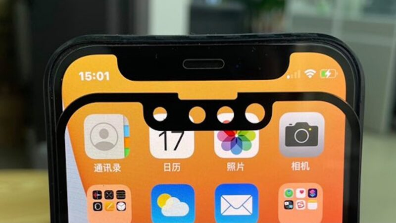 New photos claim to show smaller iPhone 13 notch compared to iPhone 12