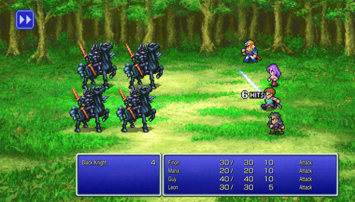 Final Fantasy I, II, and III launch on Android a day early as pixel-art remasters