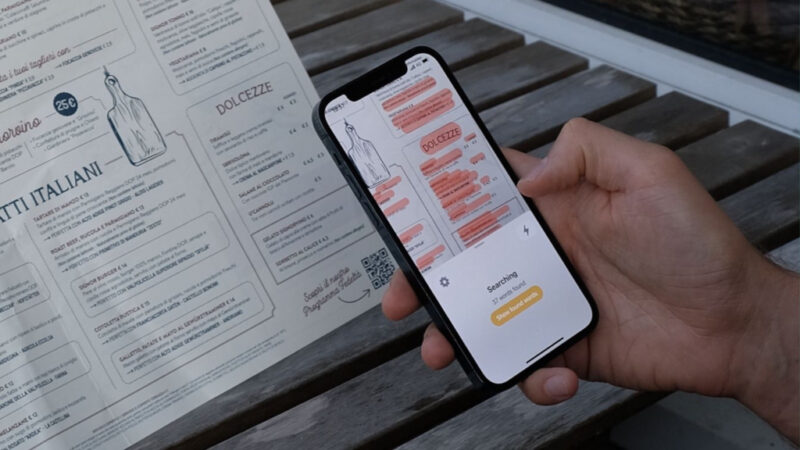 Cibo is a new iOS app to scan menus and help you decide what to eat when traveling abroad