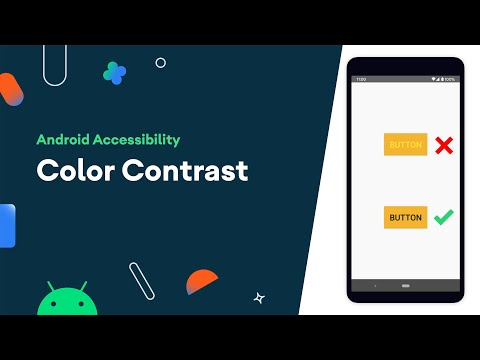 Color contrast – Accessibility on Android