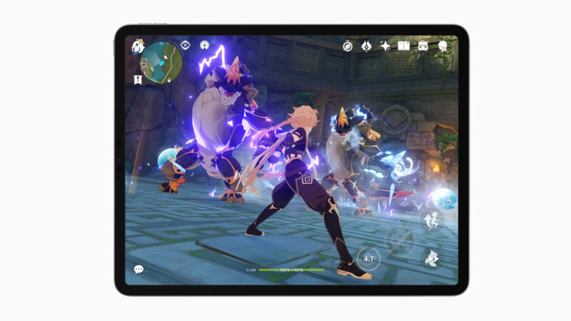 Genshin Impact update brings 120 FPS mode to iPhone 13 Pro and iPad Pro users