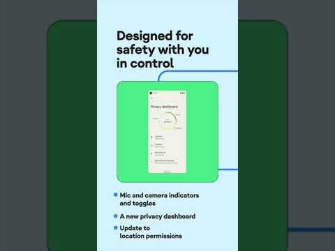 #Shorts: Stay safe with new privacy features in #Android12
